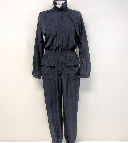 Dresses & Skirts - Zip Front Tailored Jumpsuit